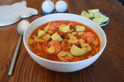Spicy Tortilla Soup 3